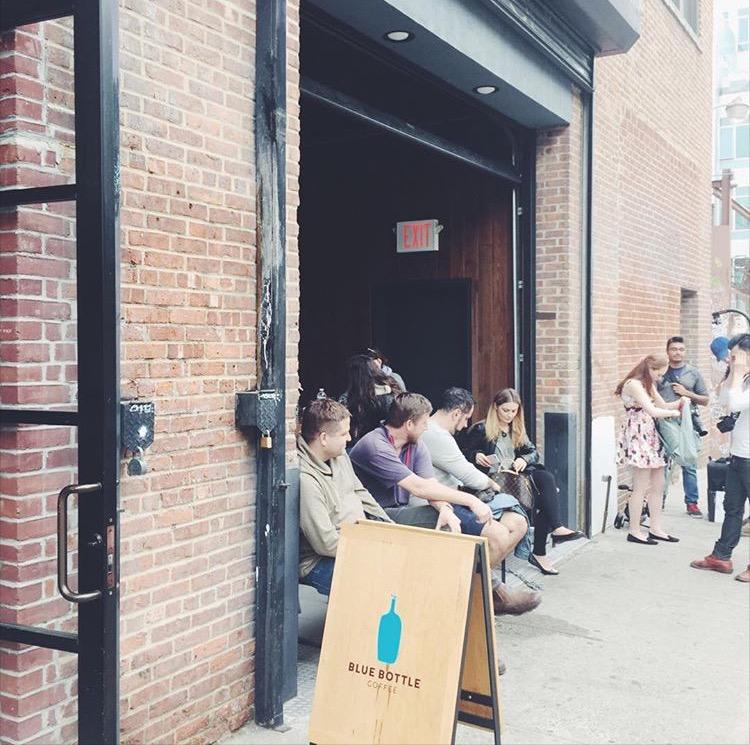 Blue Bottle Coffee, Brooklyn, New York